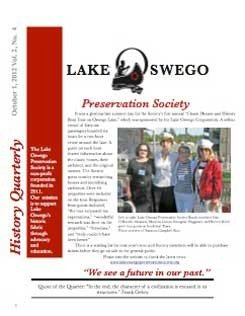 Lake Oswego News Vol 2, No. 4