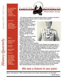 1st Quarter 2017 issue