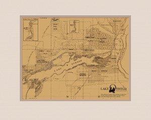 Ladd Estate Company map