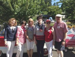 Smiley and gang in the 2015 Start Spangled Fourth of July parade!