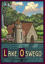 Lake Oswego Spring Poster