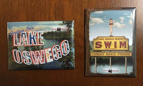 Lake Oswego magnets