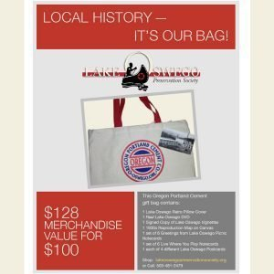 """It's in the Bag"" A gift bag of items celebrating our local history"