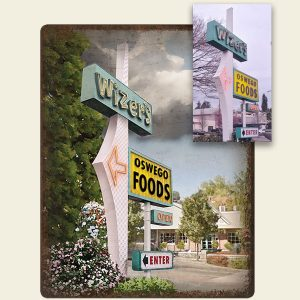 Lake Oswego Wizers Food Sign