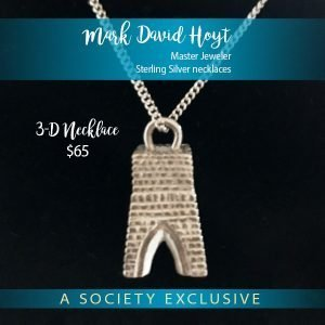 3D Sterling Silver necklace