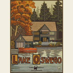 Paul A. Lanquist - Lake Oswego Autumn Print