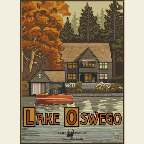 Paul A. Lanquist - Lake Oswego Autumn Print