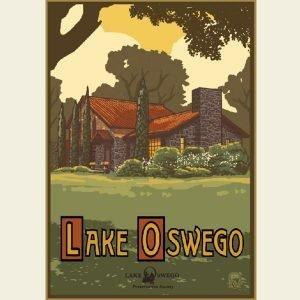 Paul A. Lanquist - Lake Oswego Summer Poster