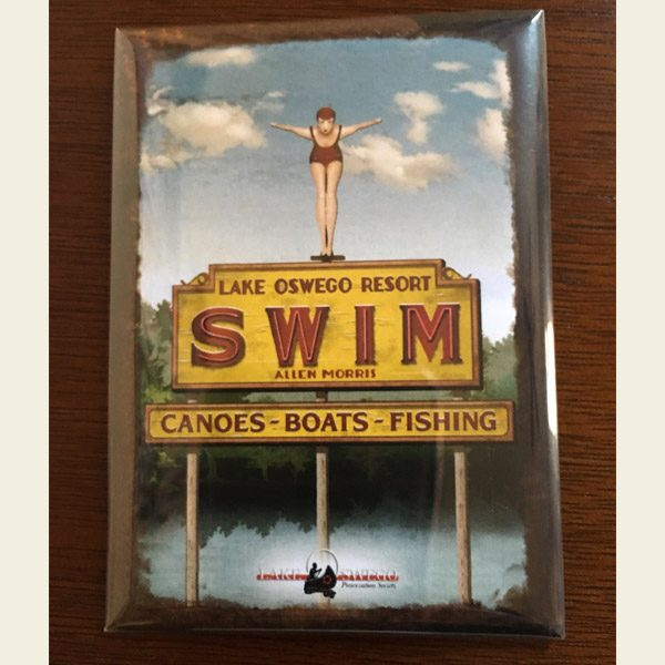 Lake Oswego SWIM magnet